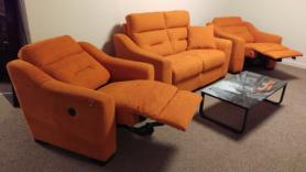 Lazy Boy Tara 2 Seater & 2 Electric Recliner Chairs