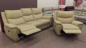 La-Z-Boy Jersey 3 Seater Recliner & Power Chair - Show Sample