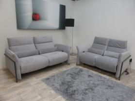 CLEARANCE NATUZZI PROTOTYPE 3 & 2 SEATER BOTH POWER RECLINERS
