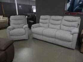 LAZY BOY STANFORD 3 SEATER STATIC & RECLINER CHAIR