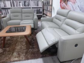 La-Z-Boy Tara Leather 3 & 3 Seater Power recliners