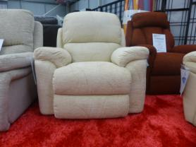 La-Z-Boy California Manual Recliner Fabric Chair