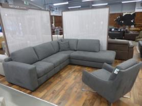 Natuzzi Editions soft fabric beautiful  corner & feature chair