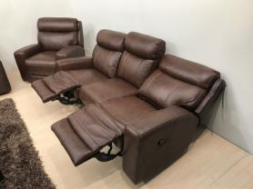 MIZZONI ITALIA LEATHER MANUAL 3 & POWER RECLINER