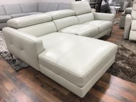 Mizzoni Italia Cyber High quality Power reclining leather chaise sofa