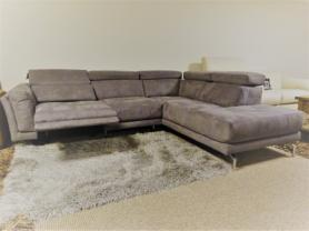 MODERN AND COMFORTABLE FABRIC ELECTRIC RECLINING R/H SOFA