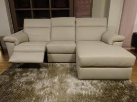 Natuzzi Editions Michelle 3 Seater Power Reclining Chaise Sofa