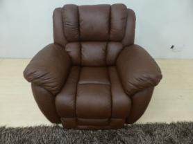 LAZY BOY LA-Z-BOY AUGUSTA LEATHER CHAIR