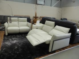Prototype High Grade Leather 3 & 2 Seat Both Power Recliners