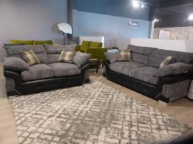 AMORE MONTREAL FABRIC 3 SEATER AND 2 SEATER
