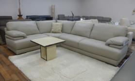 NATUZZI EDITIONS PLAZA Corner Suite In High Quality Thick Leather