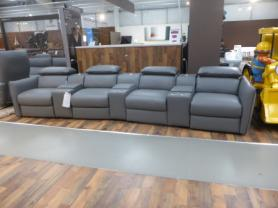NATUZZI PARADISO CINEMA SOFA LATEST MODEL HIGH GRADE ITALIAN LEATHER
