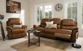 La-z-Boy Original Savannah 3 seater and chair both manual recliners