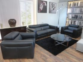 Natuzzi Editions Umberto Power reclining 3 Seater and 2 Chairs