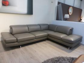 CONCEPT ITALIA CAPRI CORNER SOFA WITH ADJUSTABLE HEADRESTS & ARM REST