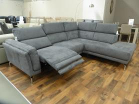 NATUZZI PRIVATE LABEL SAN DIEGO MODERN R/H POWER RECLINING SOFA