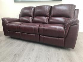 Violino Full leather manual reclining 3 Seater