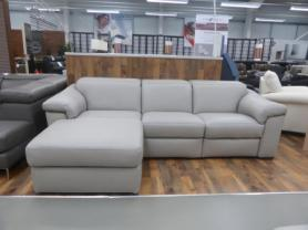Natuzzi B760 Sensor/Michelle Power reclining L/H sofa