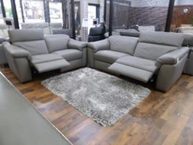 Natuzzi Editions Sensor 3 Seater & 2 Seater Power Recliners