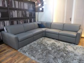 Natuzzi Splendore latest model Leather sofa with 3 power recliners