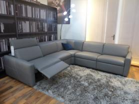 Natuzzi Splendore latest model Leather power corner sofa