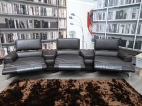 Calia Italia Cannes power reclining cinema sofa