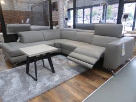 Natuzzi Editions Artisan L/H facing power corner sofa