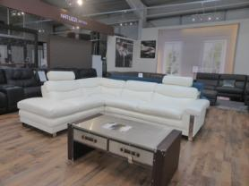 Mizzoni Italia Messina Beautiful leather corner sofa