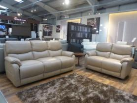 Mizzoni Italia thick leather 3 seater and 2 seater