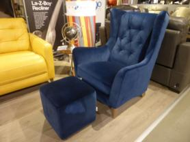 La-Z-Boy  Lisbon Accent Chair And Footstool
