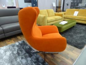 NEO FABRIC VIBRANT SWIVEL CHAIR