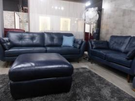 Rome beautiful thick leather 3 & 2 seater sofa
