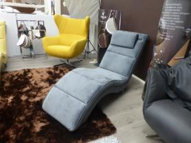 Bibi soft fabric chaise lounger made by Gala Collezione