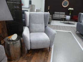 Wing back push back recliner chair by Gala collezione