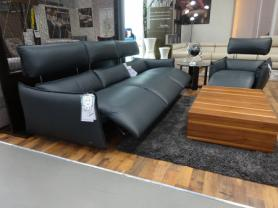 Natuzzi Editions Stupore Power Reclining 4.5 Seater & Chair
