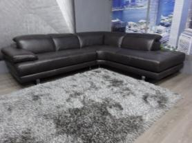 Natuzzi Adamo B878 Italian Leather Power Reclining R/H Corner Sofa