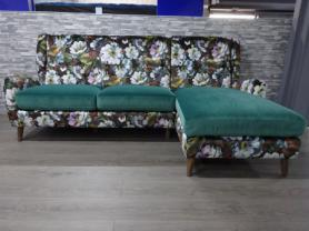 Designer Bright floral Suzani Charm reproduction sofa