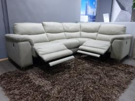La-Z-Boy Prototype Power Reclining Corner Sofa in Alcantara Fabric