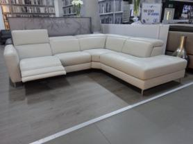 Franco Ferri Italia Venito Power Reclining Chaise Corner Sofa