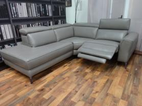 Volante Pescara Left Hand Chaise Power Reclining Corner Sofa
