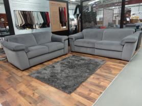 Natuzzi Editions Simbiosi 3 Seater Power & 2 Seater Static