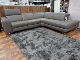 Natuzzi Editions Pensiero R/H Power Reclining Corner Sofa
