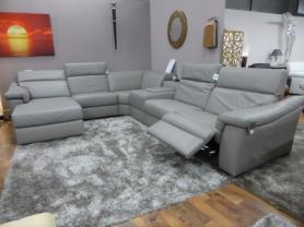 Natuzzi Editions Sylvia Top Spec Electric Corner Sofa