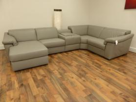 Leather Editions Sylvia Top Spec Electric Corner Sofa