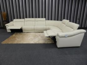 Bianco Large Sofa 6 Piece Corner Group