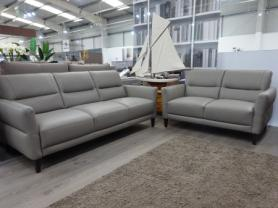 Natuzzi C132 Calore soft leather 3 & 2 seater