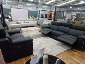 New Trend Concepts Italia large power Reclining 3 & Static 2 seater