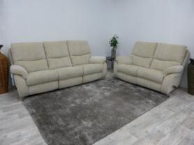 La Z Boy California 3 and 2 Seater Recliners