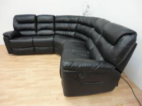 Furnimax Manhattan Power Recliner Corner Sofa