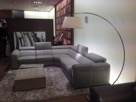 Editions Club Corner Sofa with Electric Recline & Headrests